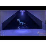 Компания «Гефест Проекция» разработала 3 D контент для голографической пирамиды
