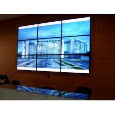 """Видеостена из 4-ех тонкошовных LED панелей  - 110"""", 3840х2160,  цена за 1 день аренды"""