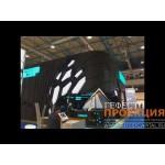 Эксклюзивная застройка выставочного стенда с интерактивным оборудованием для компании СИБУР!