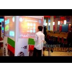 Интерактивный рекламный стенд для Burger King