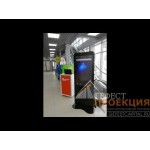 Поставка интерактивной стеллы диагональю 49 дюймов