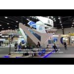 Разработка видеоконтента и интеграция в выставочный стенд Самарского региона напольных светодиодных модулей на ПМЭФ 2018