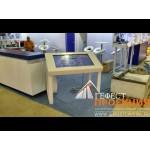 Компания Гефест Проекция,предоставила в аренду два сенсорных стола DEDAL PRESENTER