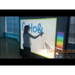 Активность «цифровой художник» для корпоратива компании Сбербанк.