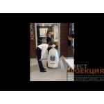 Юбилей 122 гимназии г.Казани:: робот R-Bot для торжественной встречи гостей